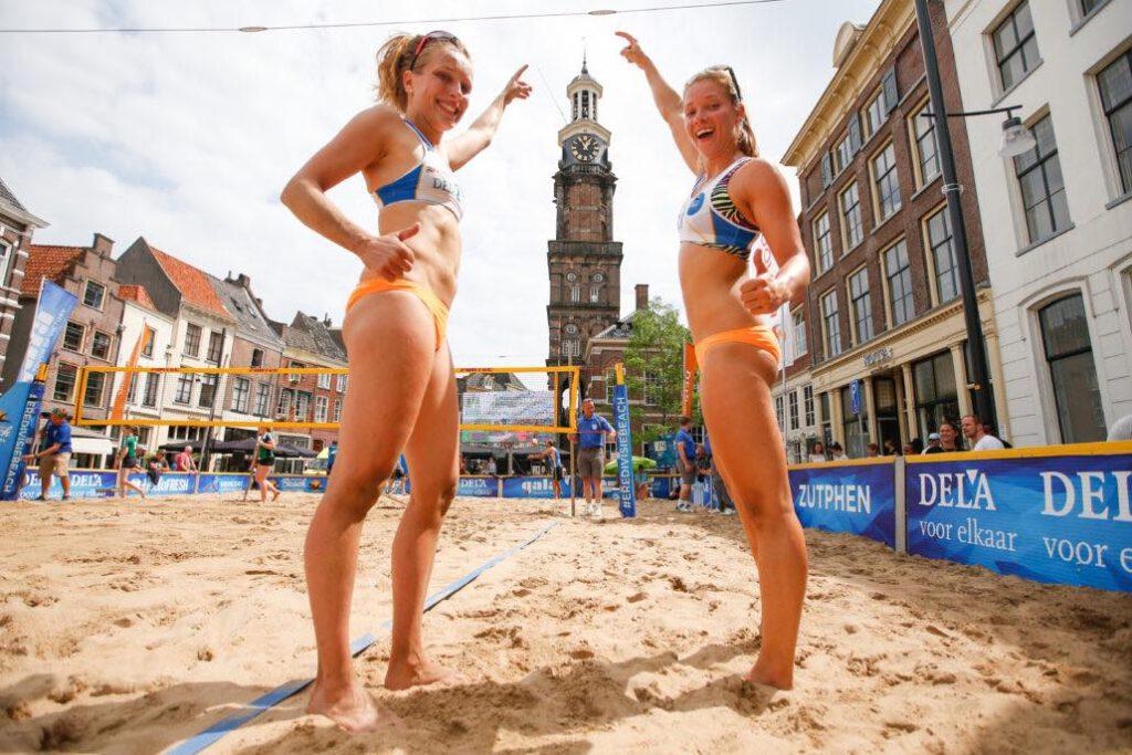 beachvolleybal eredivisie dames